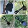 Outdoor Folding Shovel - BLACK