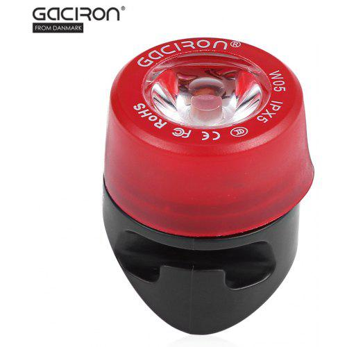 659cd7792ee9 Gaciron W05 Waterproof Bike Rear Lamp Warning Light | Gearbest India