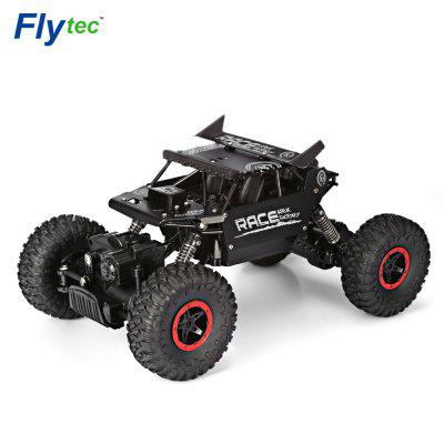 Flytec 9118 01:18 Alloy 2.4G Four-wheel RC Climbing Rock Car