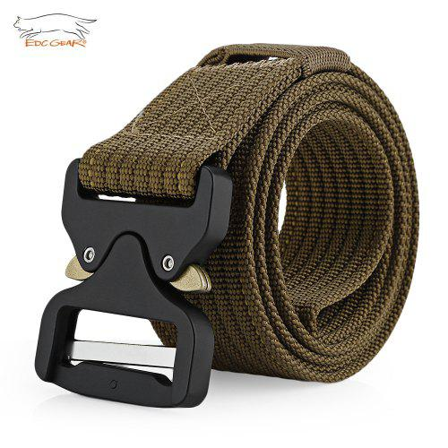 EDCGEAR Military Tactical Belt Waist Strap with Buckle – Deep Brown 232969202,  | Warehouse: CN-099