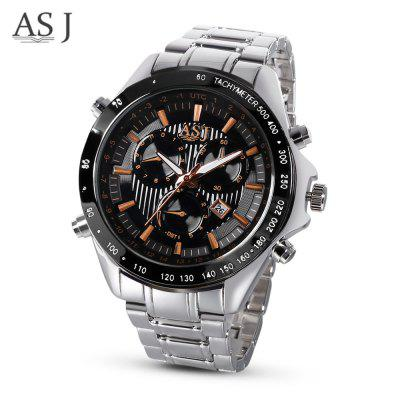 ASJ GP8786 Men Quartz Calendar Watch