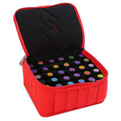 Stylish 30 Bottles Essential Oil Carrying Shockproof Case