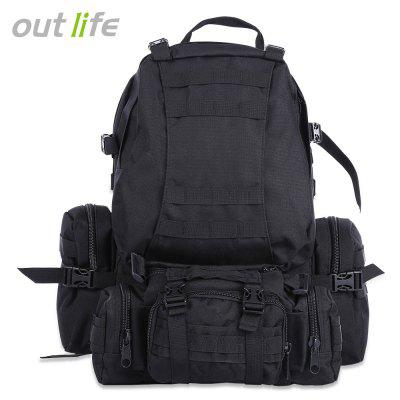 Outlife Εξωτερική 50L MOLLE Camping πεζοπορία σακίδιο