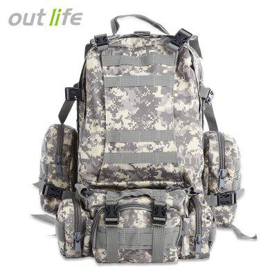Outlife Outdoor 50L MOLLE Camping Hiking Backpack