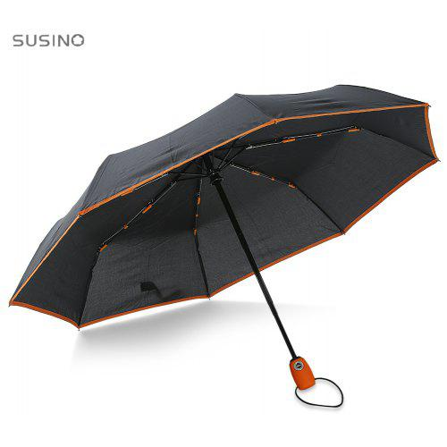 7029370634979 SUSINO 3 Folding Fully Automatic Windproof Rain Umbrella | Gearbest