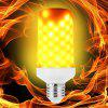 LED Flame Light Bulb Emulation Flaming Decorative Lamp - WHITE