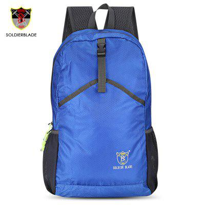 GearBest coupon: SOLDIERBLADE Outdoor Foldable Sport Backpack Climbing Bag