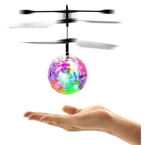 Flying RC Crystal Ball Disco LED Light Helicopter