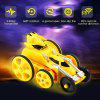 HappyCow 777 - 609 2.4GHz Mini Stunt Remote Control Car - YELLOW