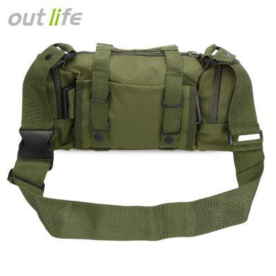 Outlife Multifonctionnel Tactical Molle Sac à dos de taille