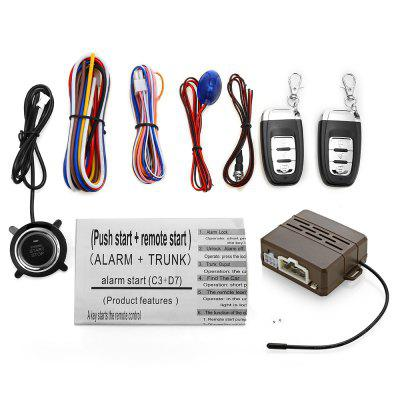 C3 Universal 12V Car Anti-theft System Audible Visual Alarm