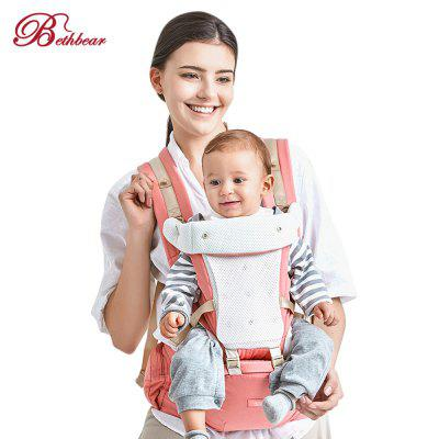Bethbear 4 in 1 Hipseat Ergonomic Marsupio Sling Backpack