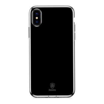 Baseus Simple Series Pluggy Case TPU Back Cover for iPhone X