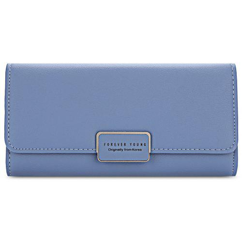 e262c677f15f Baellerry Foldable Long Clutch Wallet Women Card Holder