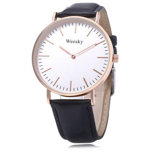 WEESKY 699 Unisex Quartz Watch -  7.60 Free Shipping GearBest.com f53a29ab0d