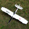 XK A1200 2.4GHz 4CH 3D / 6G System Fixed-wing Airplane - WHITE