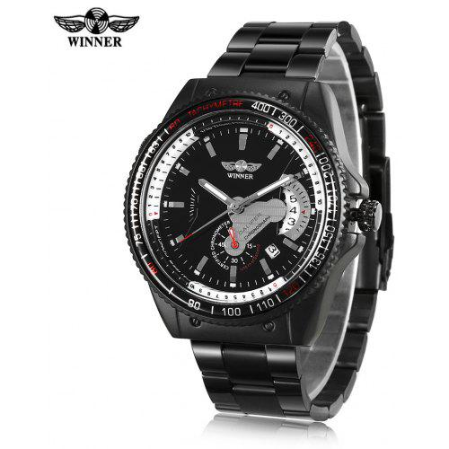 WINNER 3151672 Business Mechanical Wristwatch for Men