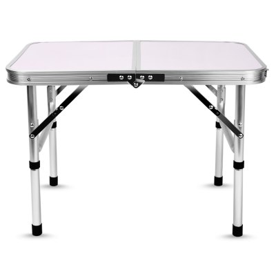 Aluminum Folding Camping Table with Adjustable Height