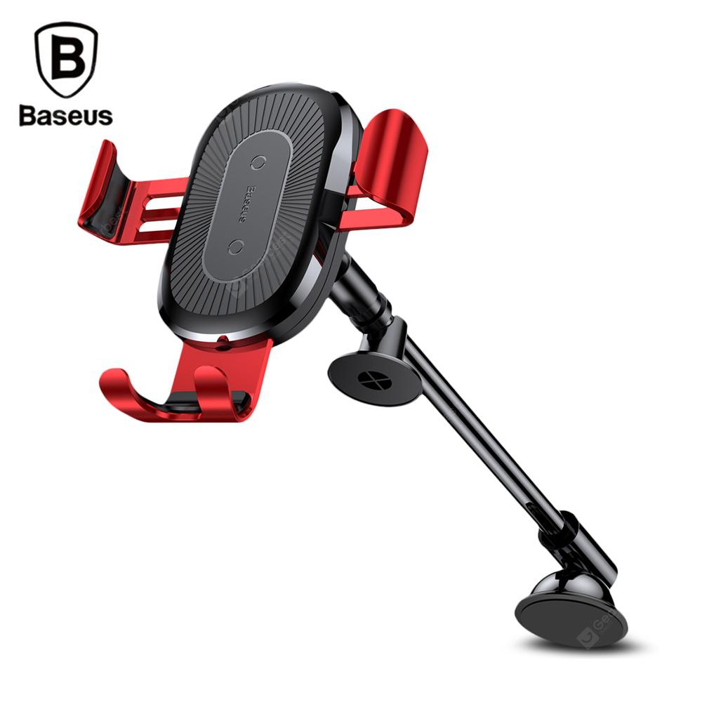 Baseus Fast Wireless Charger Stickup Gravity Car Mount 10W