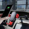 Baseus Fast Wireless Charger Stickup Gravity Car Mount 10W - RED