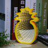 Pineapple Shaped Infinity Mirror Lamp LED Tunnel Light - WHITE