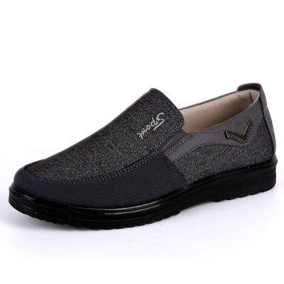 Breathable Anti-skid Loafers Cloth Shoes for Men