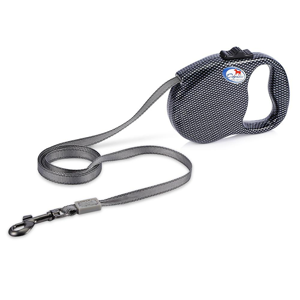 DOGNESS 3m Retractable Dog Walking Leash for Small Dogs