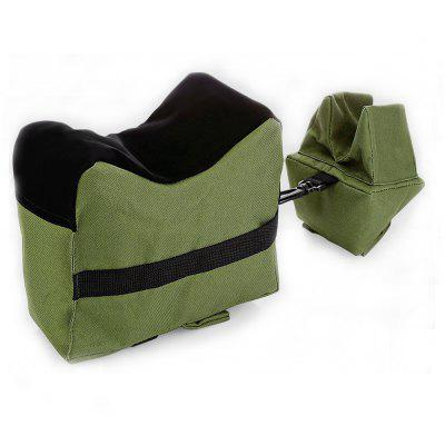 Outdoor Tactical Front Rear Shooting Bench Rest Bag Combo