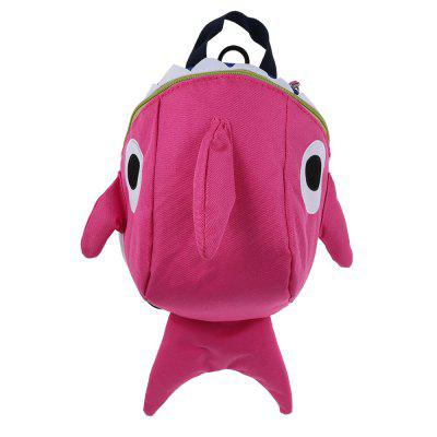 Cartoon Shark Backpack