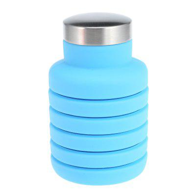 Outdoor Sport Silicone Folding Water Bottle