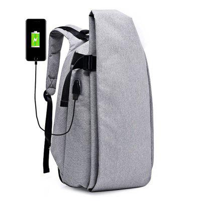 Men Anti-theft Laptop Bag Backpack with USB Charging Port