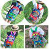 Cartoon Robot Shape Backpack - ROYAL BLUE