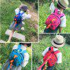 Lovely Cartoon Dinosaur Shape Kindergarten Backpack - SEA GREEN