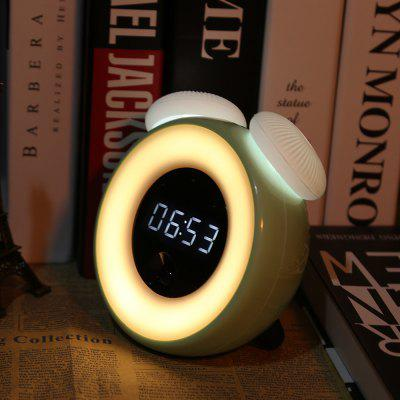 Utorch Intelligent Sensor LED Night Light with Digital Alarm Clock