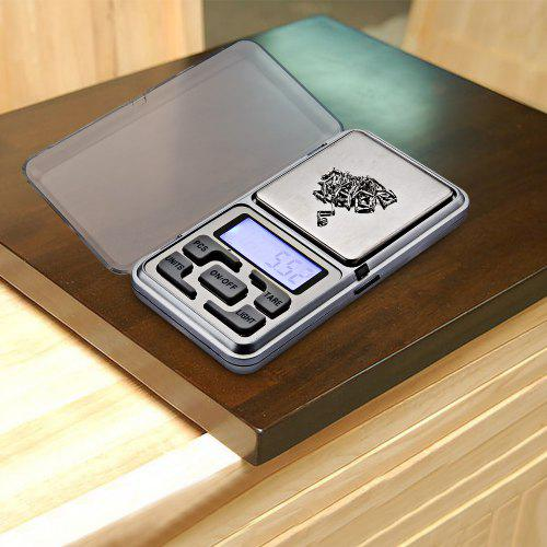 Gearbest Portable LCD Jewelry Digital Scale 200g - SILVER Precise Weighting Tool 0.01g