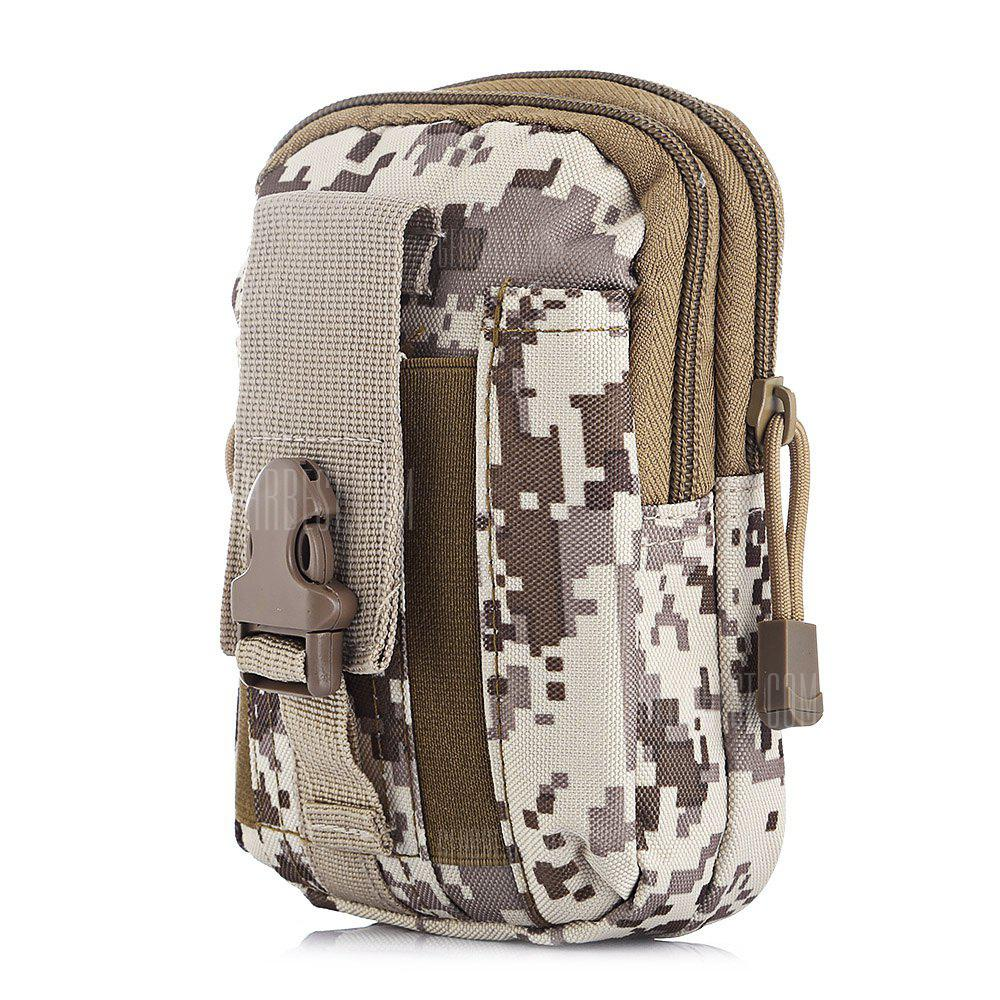 Outlife Tactic Molle Waterproof Outdoor Sports Waist Bag - ACU CAMOUFLAGE