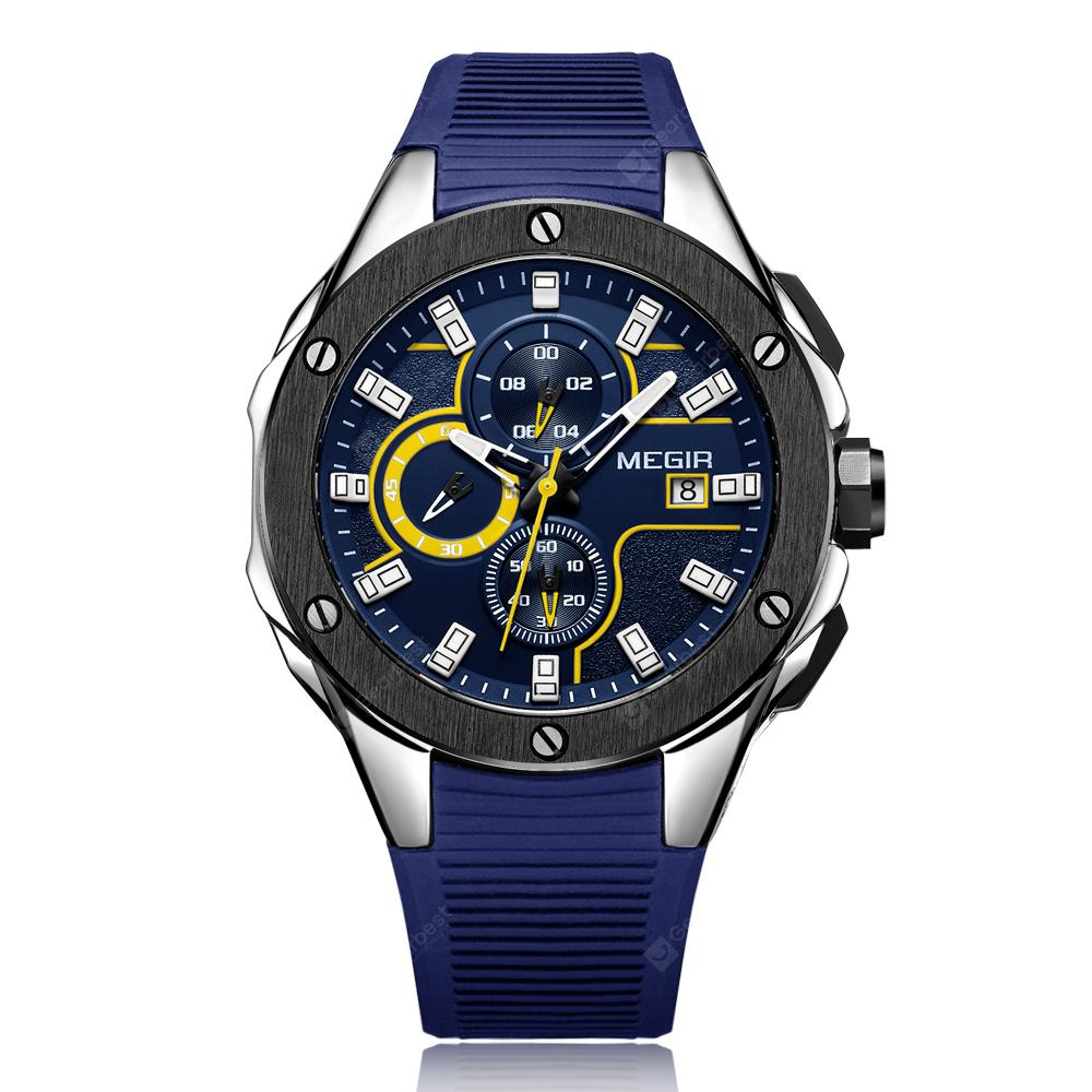 MEGIR MN2053 Men Quartz Watch в магазине GearBest