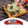Foldable Digital Food Thermometer - WHITE
