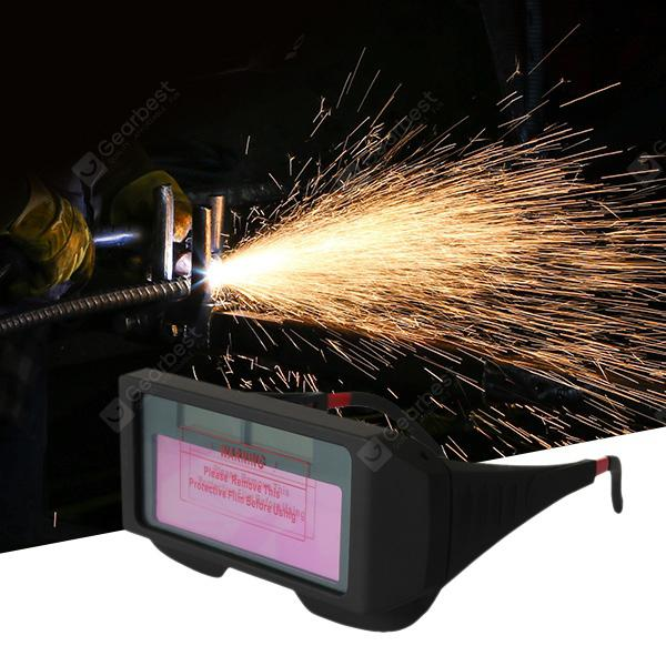 Solar Powered Auto Darkening Welding Glasses