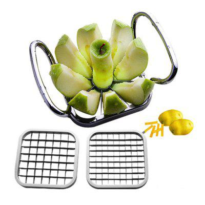 5 in 1 Manual Fruits Cutter Vegetable Slicer