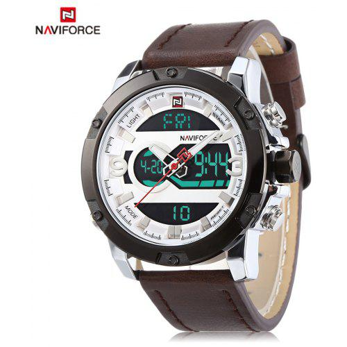 ... Quartz Watches · Digital Watches · Dual Display Watches. NAVIFORCE 9097 Male Dual Movt Watch LED Calendar Display