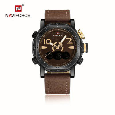 Naviforce NF9094M Male Dual Movt Watch