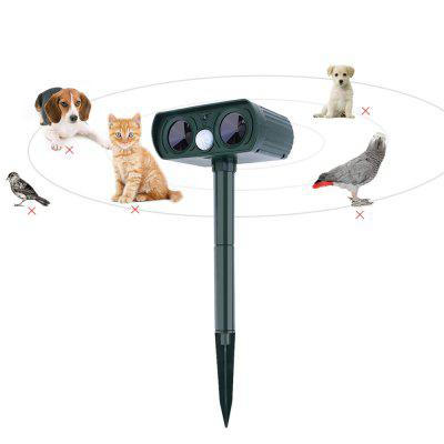 Solar Power Ultrasonic Animal Repeller
