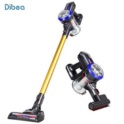 Gearbest Dibea D18 Handheld Vacuum Cleaner with Motorized Brush - GOLD EU PLUG Dibea D18 Lightweight Cordless Handheld Stick Vacuum Cleaner with Motorized Brush