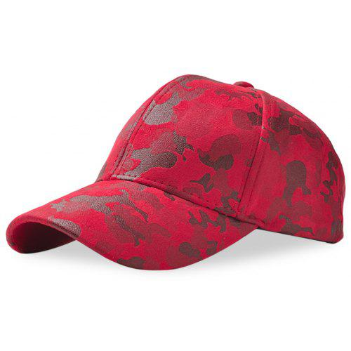 b9bbee4d0 Baseball Cap Men Women Suede Camouflage Adjustable Hat