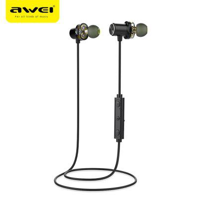 Awei X650BL Magnet Attraction Bluetooth 4.1 Sports Headphone