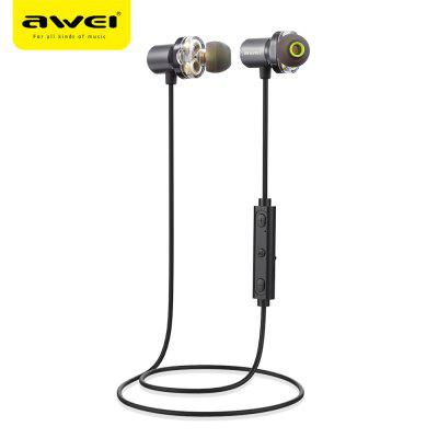 Awei X650BL Aimant Attraction Bluetooth 4.1 Sports Casque