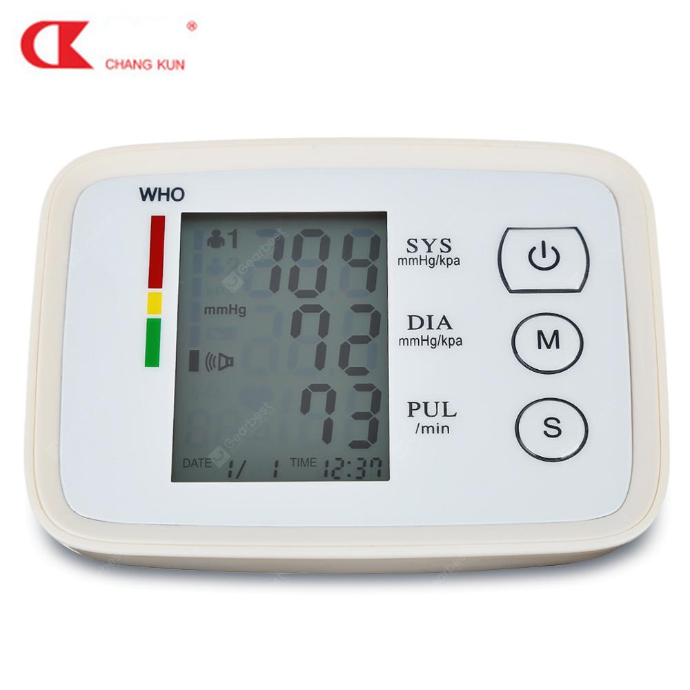 CHANGKUN CK - A155 Arm Health Care Blood Pressure Meter Heart Beat Monitor