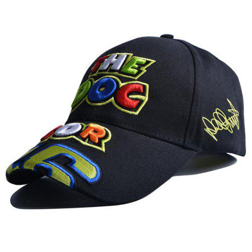 2017 New Black Yellow Cartoon Doctor 46 Rossi Moto Gp Motorcycle Racing  Team hat caps summer 047e13832093