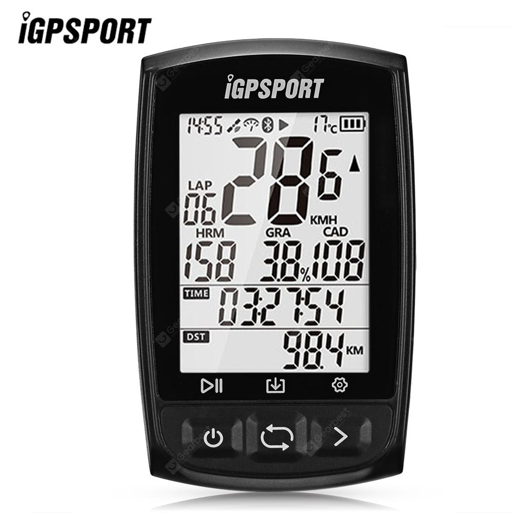 iGPSPORT iGS50E Bluetooth Wireless GPS Bike Computer - Black